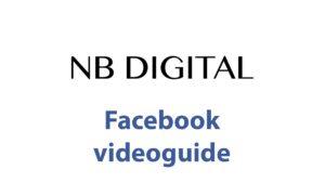 Facebook videoguide