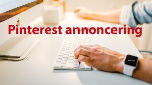 Pinterest annoncering